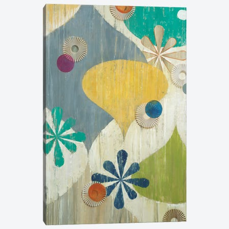 Asterisk 3-Piece Canvas #JAR139} by Liz Jardine Canvas Print