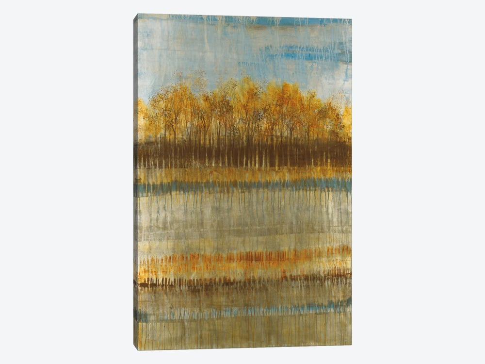 Beach Trees by Liz Jardine 1-piece Canvas Print