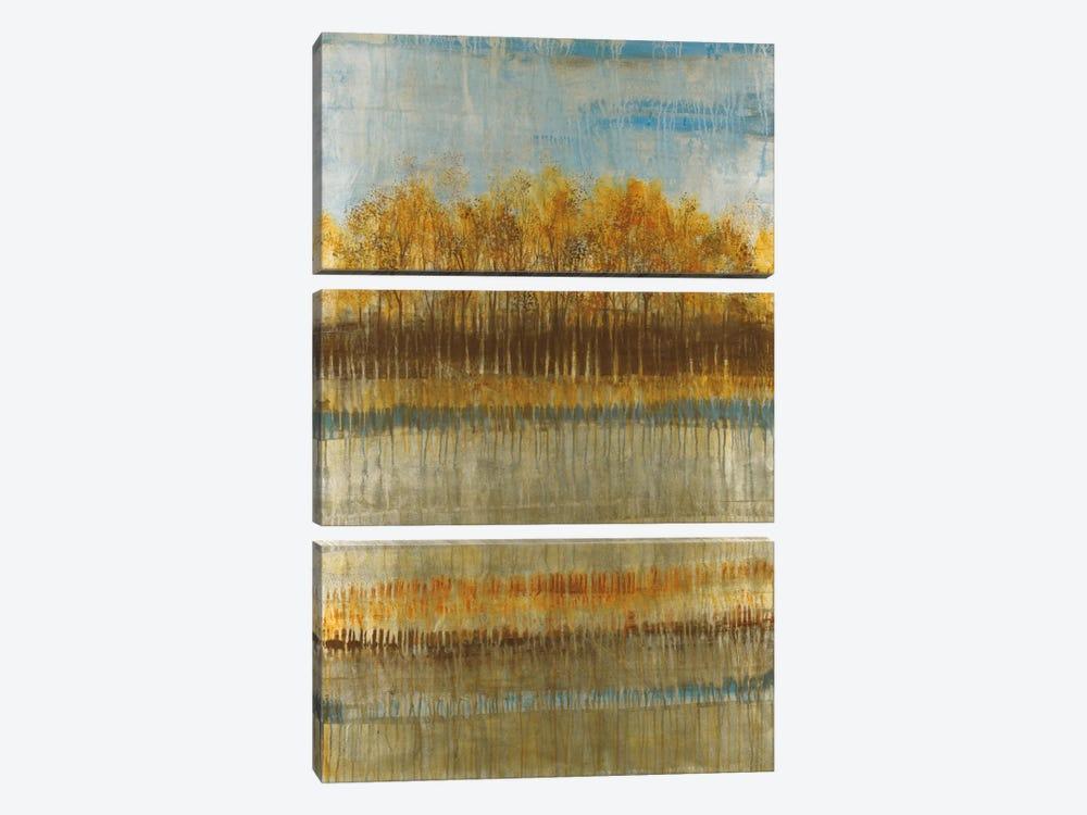 Beach Trees by Liz Jardine 3-piece Canvas Print