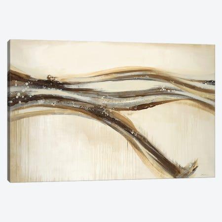 Catching A Metallic Wave Canvas Print #JAR140} by Liz Jardine Canvas Art