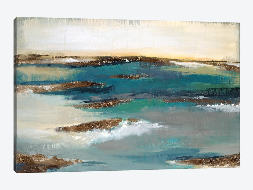 Coastal Bluff by Liz Jardine 1-piece Canvas Wall Art