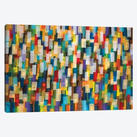 Confetti II 3-Piece Canvas #JAR142} by Liz Jardine Canvas Wall Art