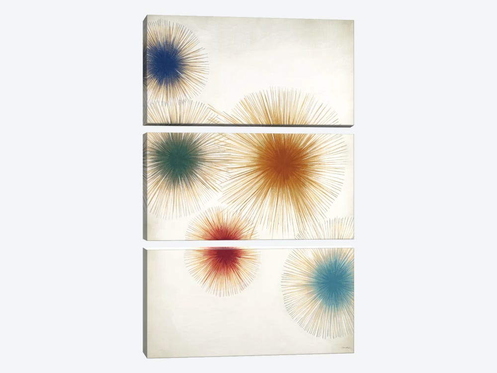 Starlight (Multi) by Liz Jardine 3-piece Canvas Artwork