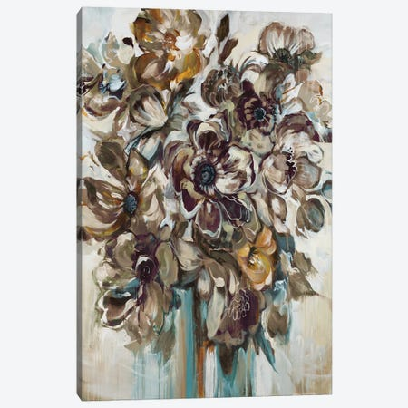Wild At Heart (Gray) Canvas Print #JAR148} by Liz Jardine Canvas Art