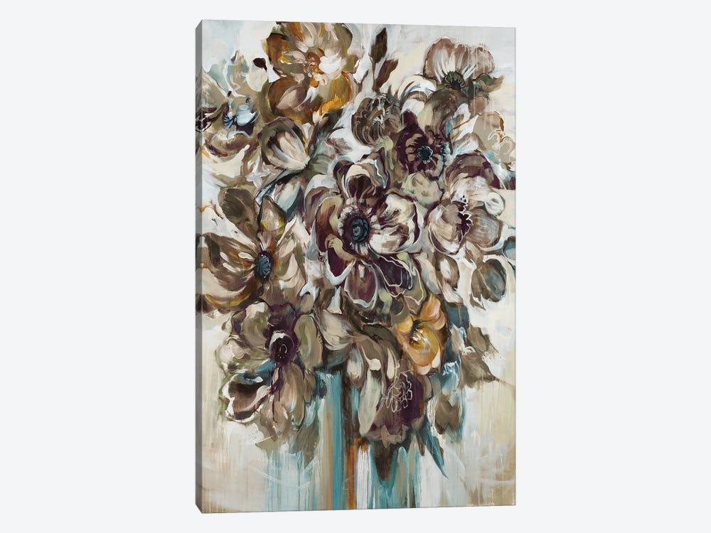 Wild At Heart (Gray) by Liz Jardine 1-piece Canvas Art Print