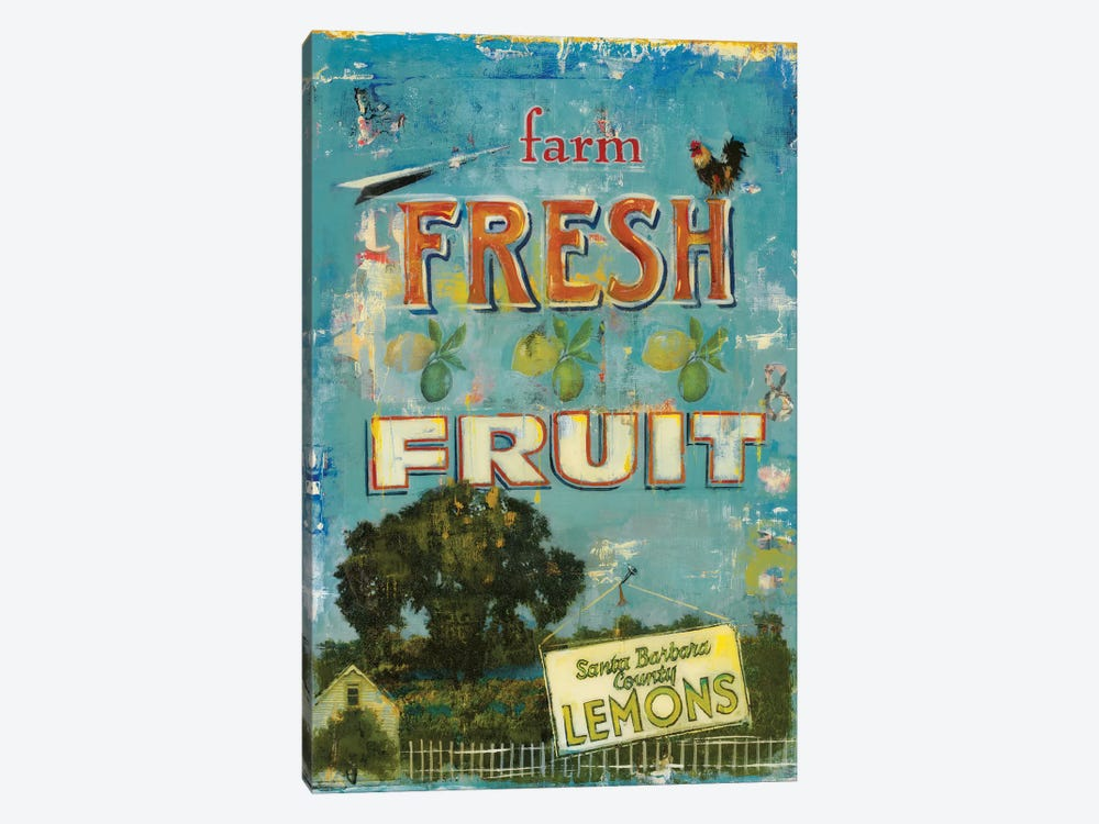 Fresh Fruit by Liz Jardine 1-piece Canvas Wall Art