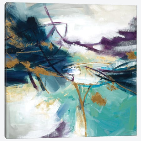 Gold Rush 3-Piece Canvas #JAR162} by Liz Jardine Canvas Art