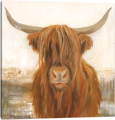 Happy Yak Canvas Art Print