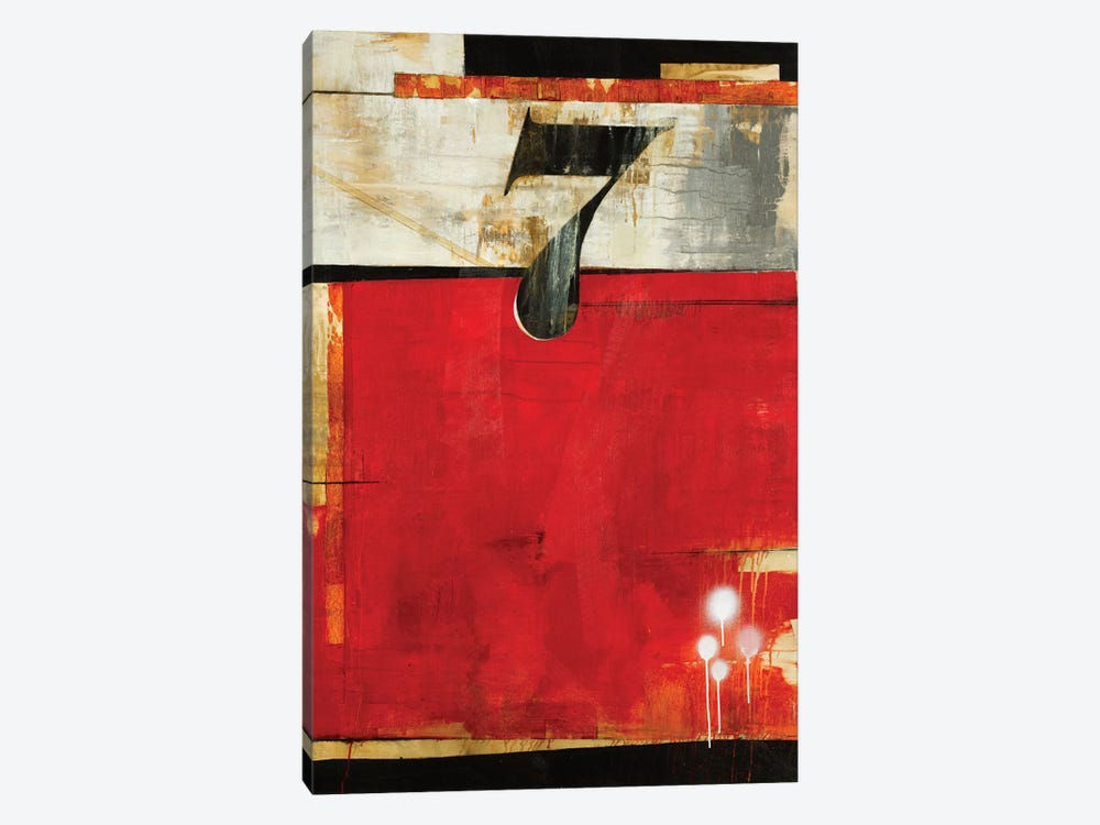 Lucky No. 7 by Liz Jardine 1-piece Canvas Artwork