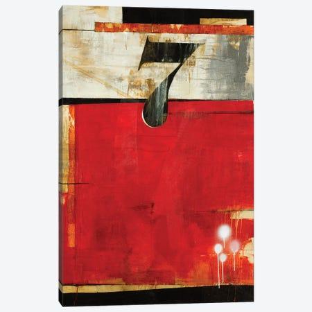 Lucky No. 7 Canvas Print #JAR167} by Liz Jardine Canvas Art Print