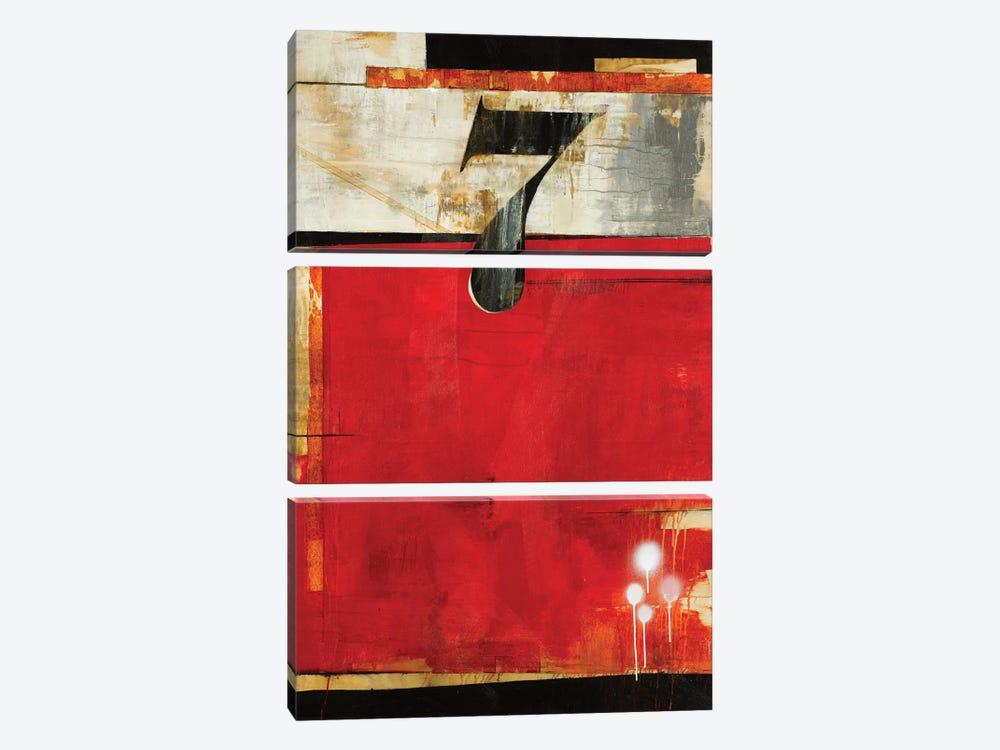 Lucky No. 7 by Liz Jardine 3-piece Canvas Wall Art