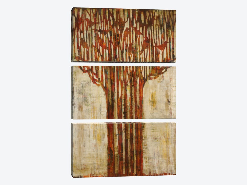 Branching Out by Liz Jardine 3-piece Canvas Artwork