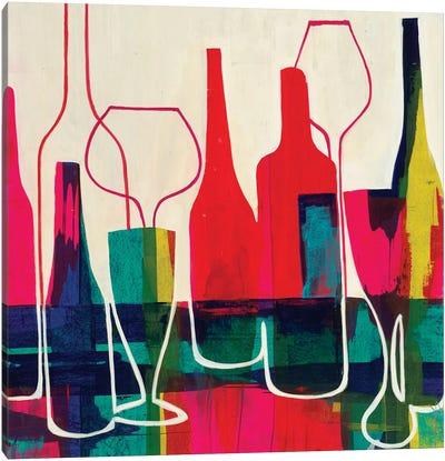 Raise Your Glass Canvas Art Print