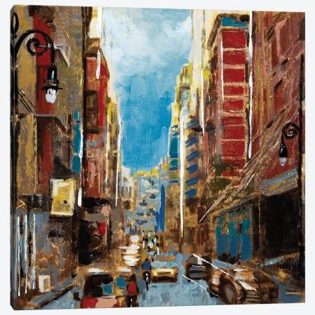 Bright Lights, Big City I Canvas Print #JAR17} by Liz Jardine Art Print