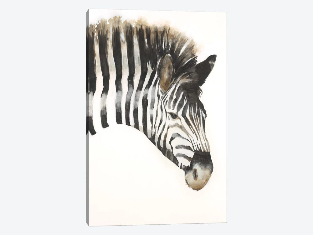 Zebra Stripes by Liz Jardine 1-piece Art Print