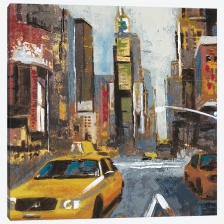 Bright Lights, Big City II Canvas Print #JAR18} by Liz Jardine Canvas Artwork