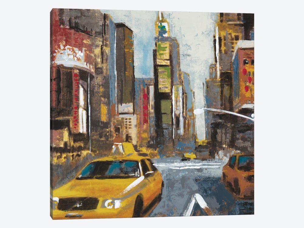 Bright Lights, Big City II by Liz Jardine 1-piece Canvas Art