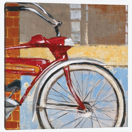 Bicycle Canvas Print #JAR192} by Liz Jardine Canvas Print
