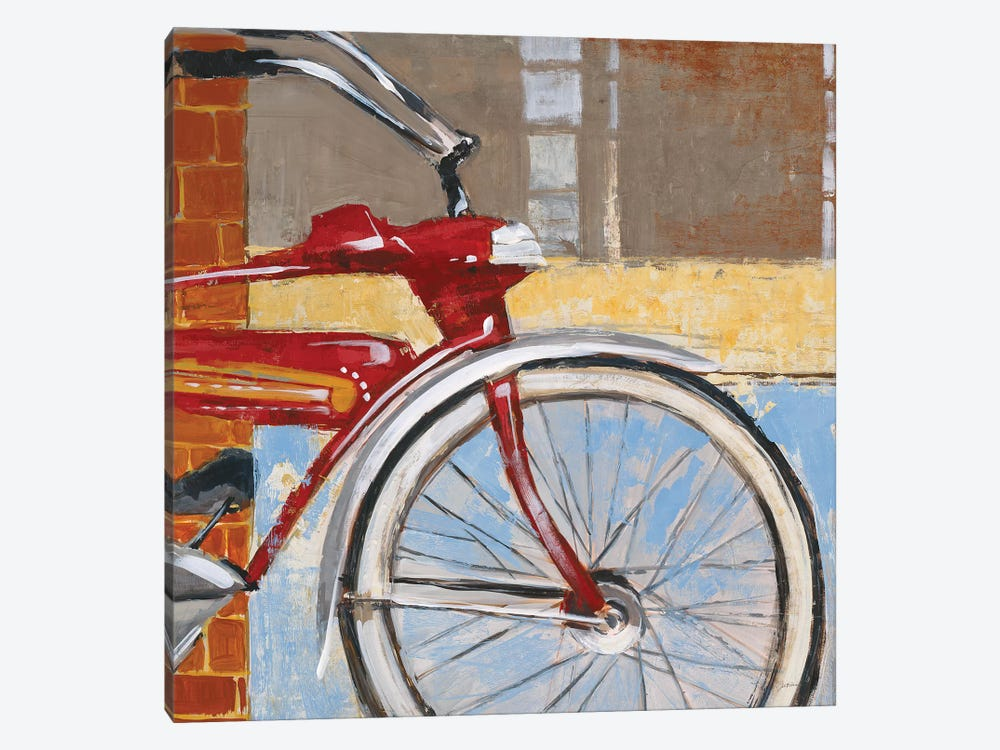 Bicycle by Liz Jardine 1-piece Canvas Art