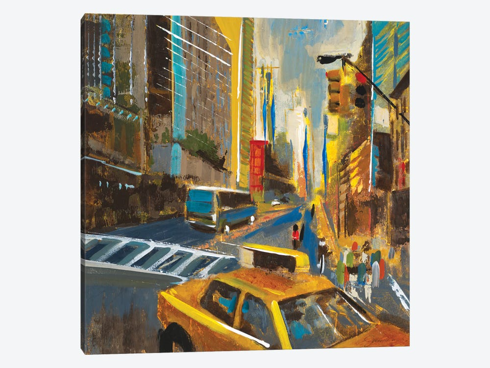 Bright Lights, Big City IV by Liz Jardine 1-piece Canvas Art Print