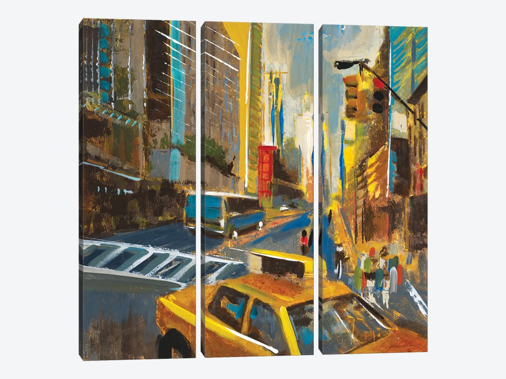 Bright Lights, Big City IV by Liz Jardine 3-piece Art Print