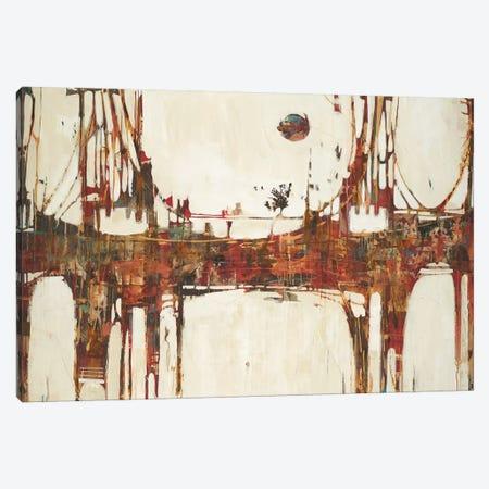 Building Bridges Canvas Print #JAR20} by Liz Jardine Art Print