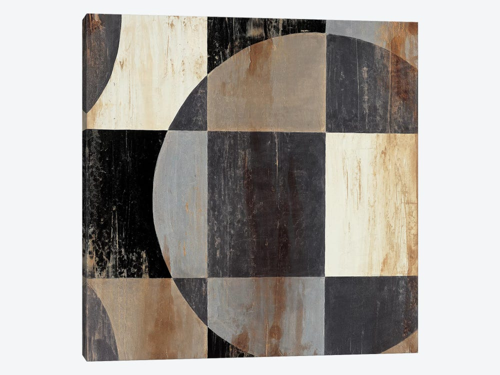 Interlocking Circles I by Liz Jardine 1-piece Canvas Print
