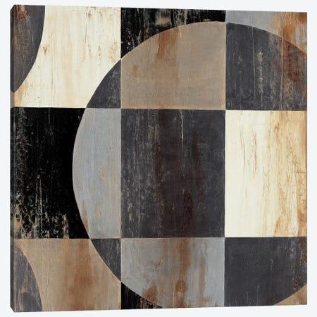 Interlocking Circles I Canvas Print #JAR211} by Liz Jardine Canvas Wall Art
