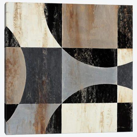 Interlocking Circles II Canvas Print #JAR212} by Liz Jardine Canvas Art