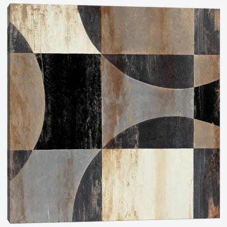 Interlocking Circles IV Canvas Print #JAR214} by Liz Jardine Canvas Art Print