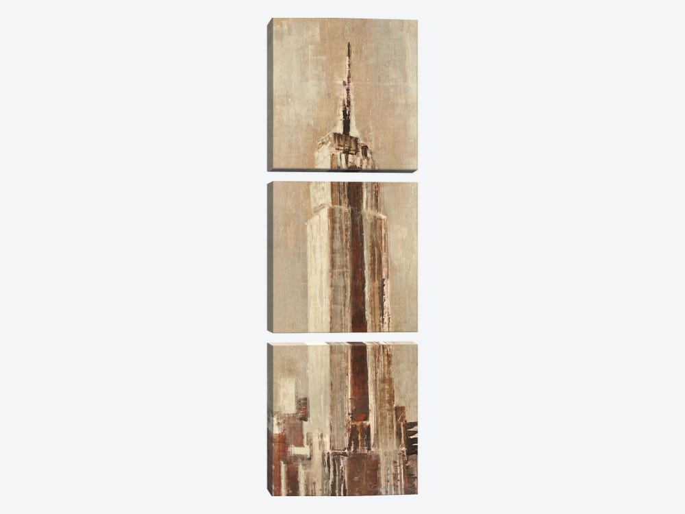 New York Landscapes II by Liz Jardine 3-piece Canvas Art