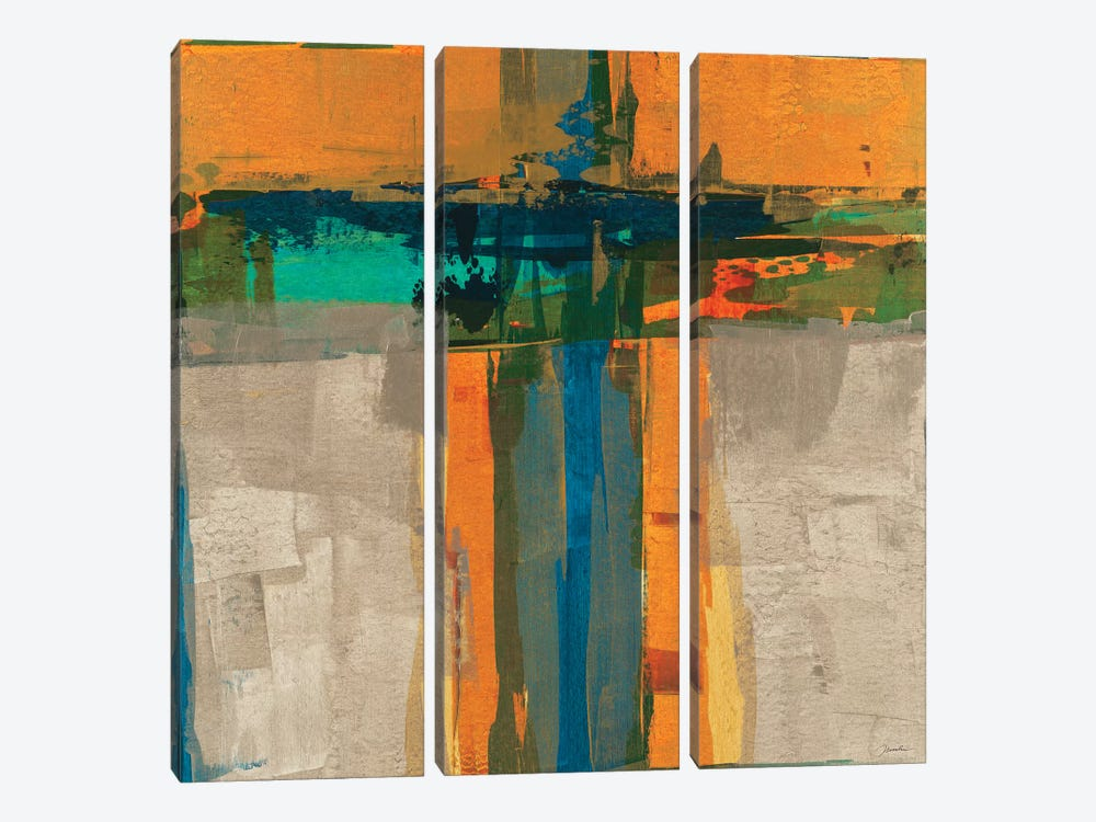 Overlay II by Liz Jardine 3-piece Canvas Art