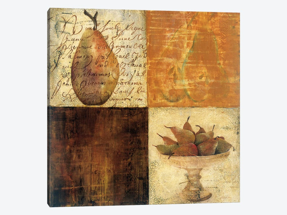 Pear du Jour I by Liz Jardine 1-piece Canvas Artwork