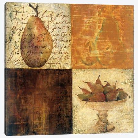 Pear du Jour I Canvas Print #JAR227} by Liz Jardine Canvas Art