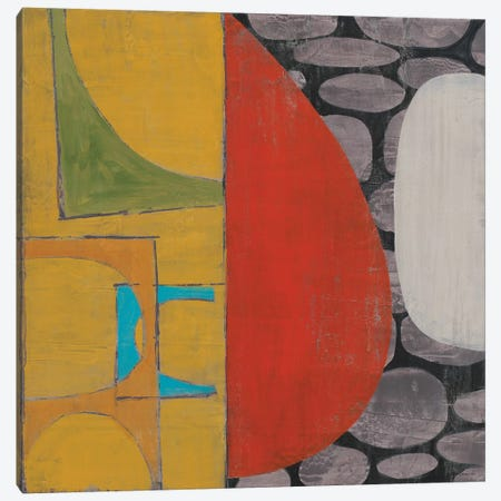 Pebble Beach II Canvas Print #JAR230} by Liz Jardine Canvas Wall Art