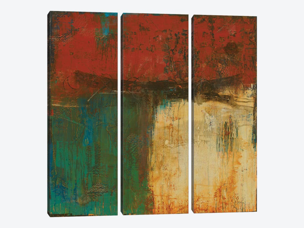 Red Sky At Night I 3-piece Canvas Artwork