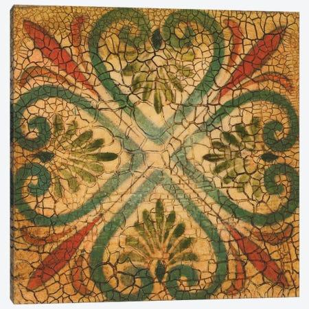 Spanish Tiles VI Canvas Print #JAR242} by Liz Jardine Canvas Print