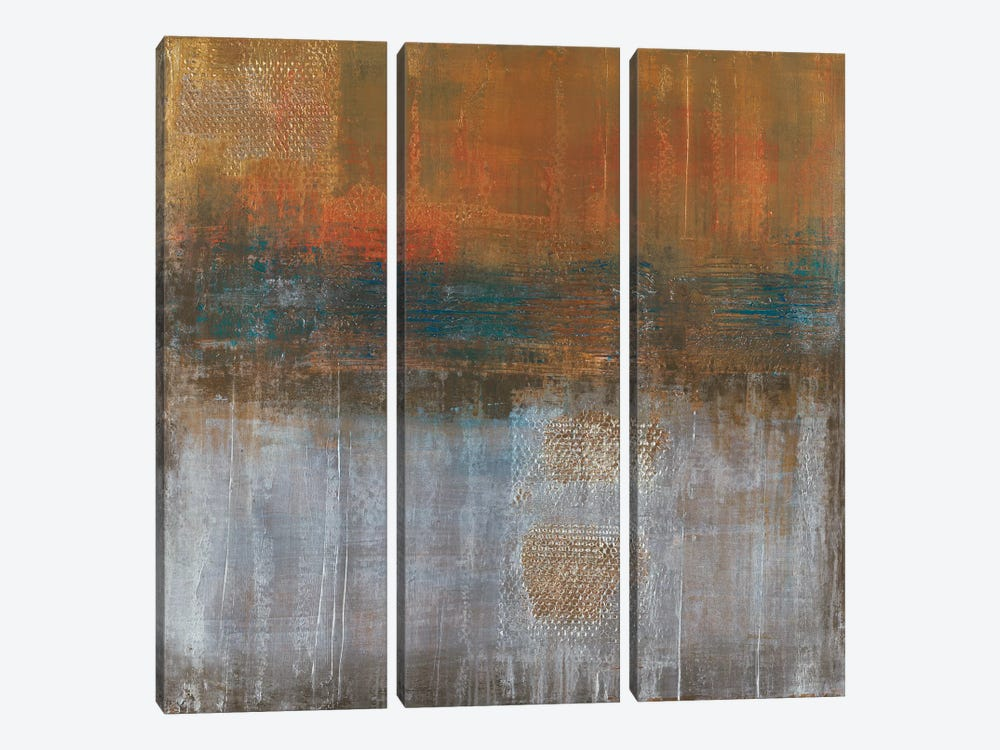 Strategic Balance by Liz Jardine 3-piece Canvas Artwork