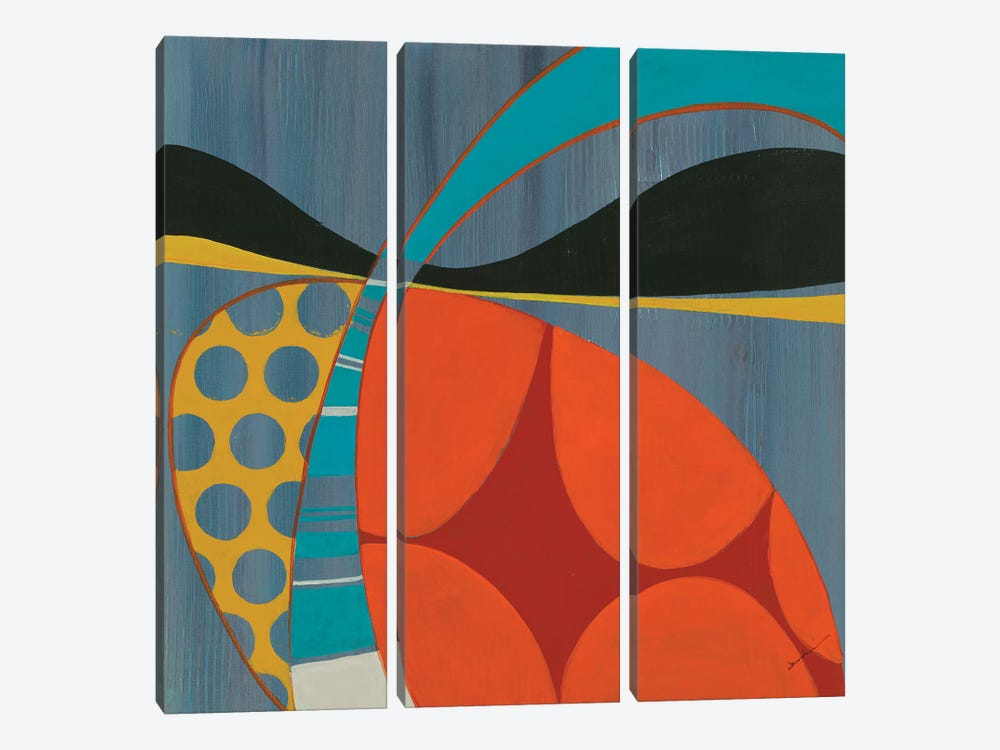 Transistor II by Liz Jardine 3-piece Canvas Wall Art