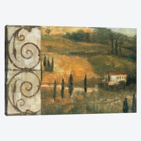 Tuscan Gateway I Canvas Print #JAR247} by Liz Jardine Canvas Artwork