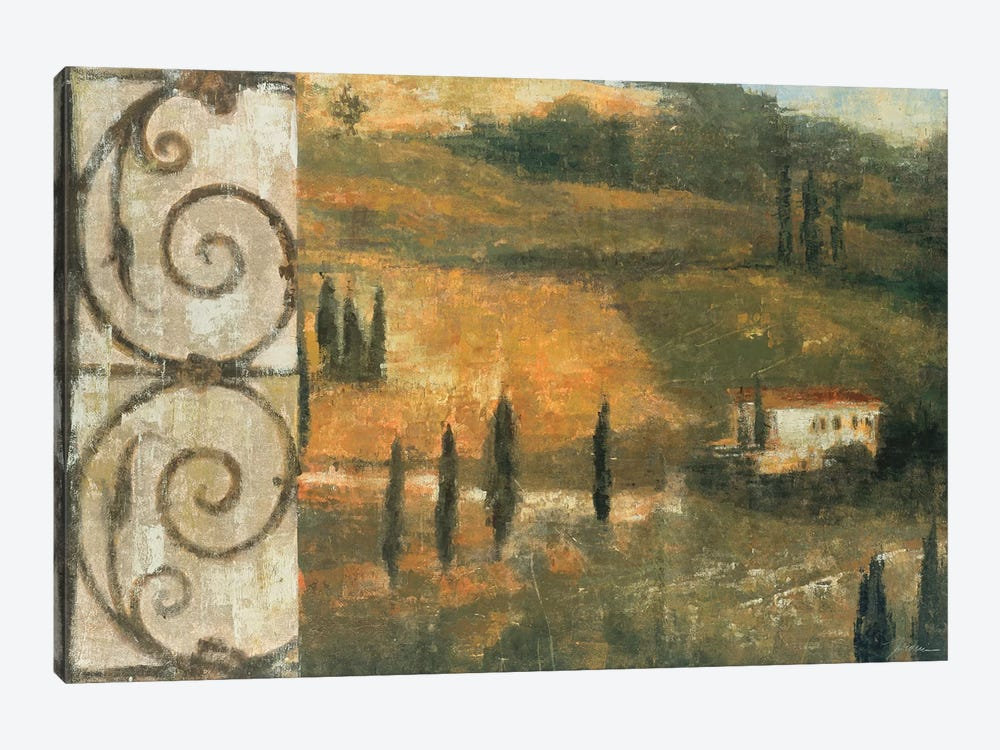 Tuscan Gateway I by Liz Jardine 1-piece Canvas Art