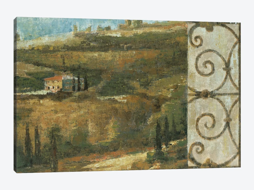 Tuscan Gateway II by Liz Jardine 1-piece Canvas Print