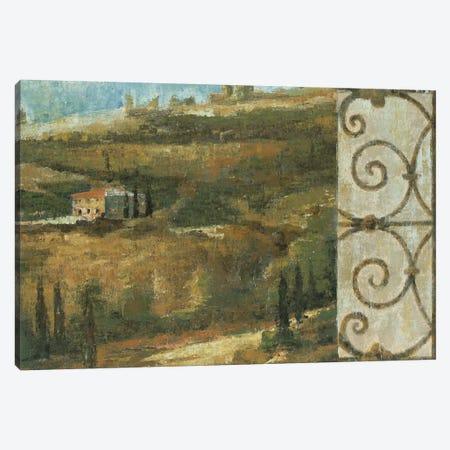 Tuscan Gateway II 3-Piece Canvas #JAR248} by Liz Jardine Art Print