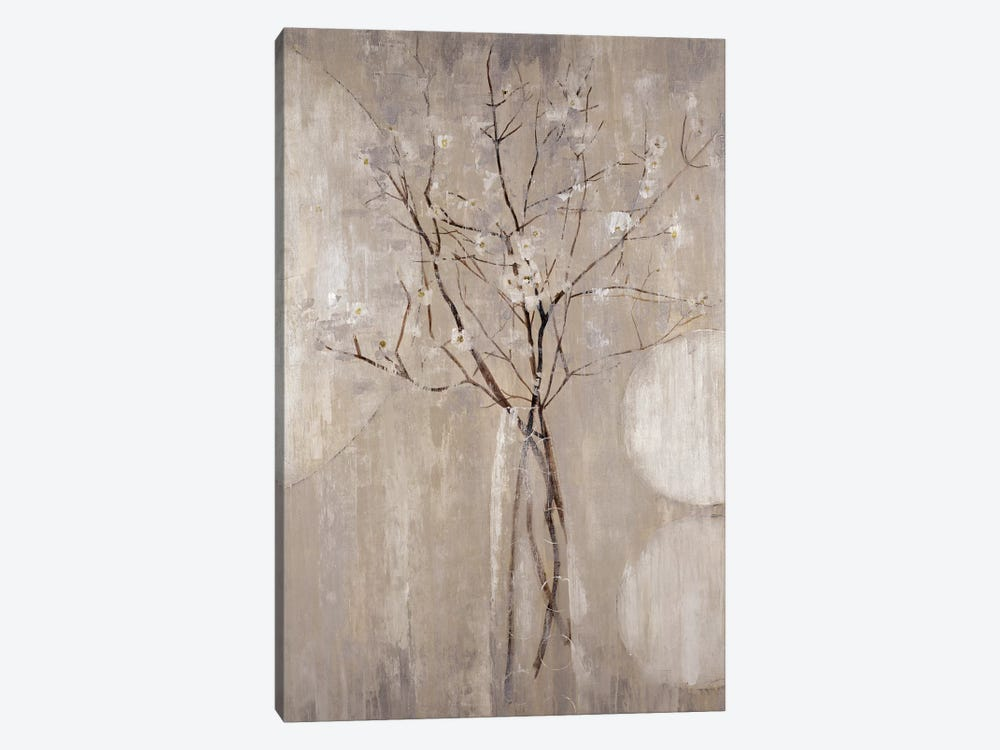 Champagne Blossoms 1-piece Canvas Print
