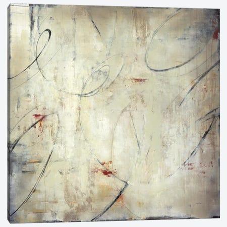 Zip Script Canvas Print #JAR257} by Liz Jardine Canvas Art Print