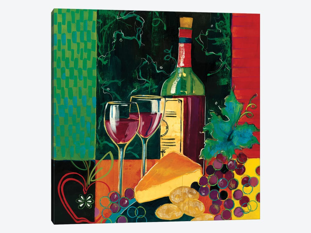Cheers by Liz Jardine 1-piece Canvas Wall Art