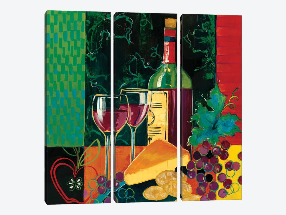 Cheers by Liz Jardine 3-piece Canvas Wall Art