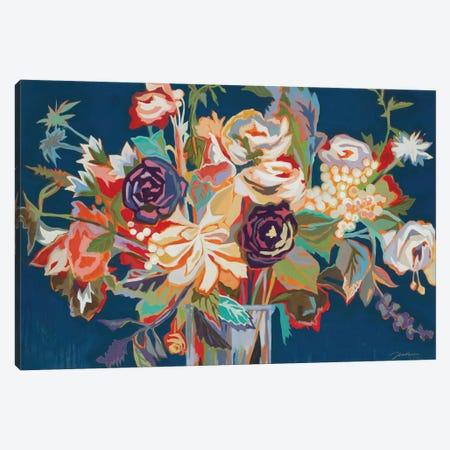 Deja Blue Canvas Print #JAR260} by Liz Jardine Canvas Print