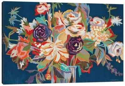 Deja Blue Canvas Art Print