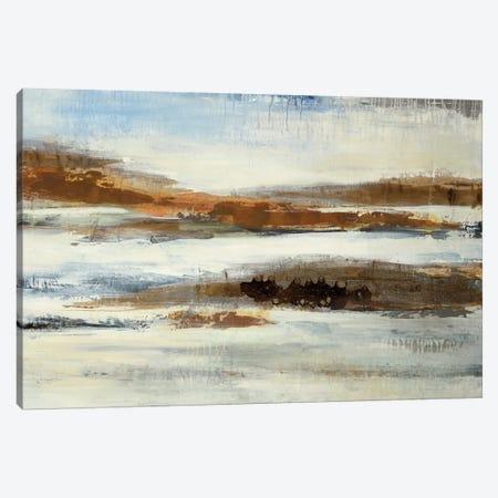 Jagged Coast Canvas Print #JAR263} by Liz Jardine Canvas Art Print
